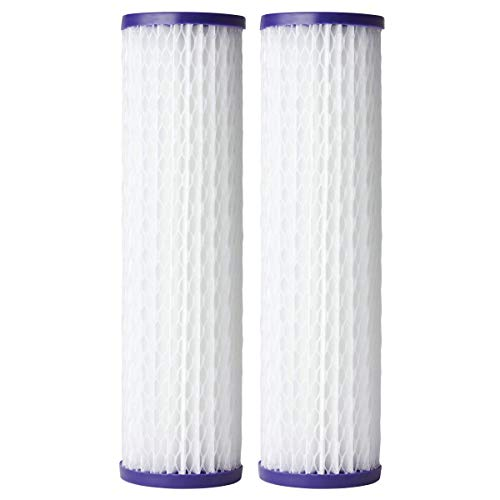 AO Smith AO-WH-PRE-RP2-2 Pack Sediment Filter Replacement 2.5 Inch - 20 Micron Filtration