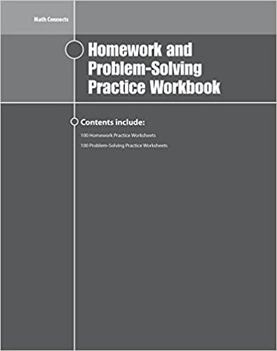 Amazon.com: Math Connects Homework and Problem-Solving Workbook ...