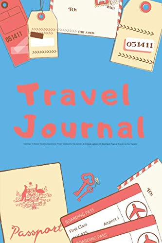 Kids Travel Diary - Travel Journal Kids Diary To Record Traveling Experiences: Prompt Notebook for Trip Activities & Gratitude Logbook with Sketchbook Pages to Draw & Log ... Prompts for Writing & Sketchbook Pages