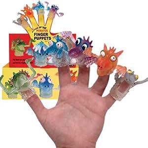Finger Monsters Rubber Finger Puppets (sold singly)
