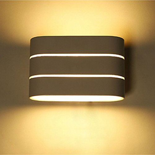 Excelvan 5W LED Wall Sconce Ceiling Light Modern Simple I...