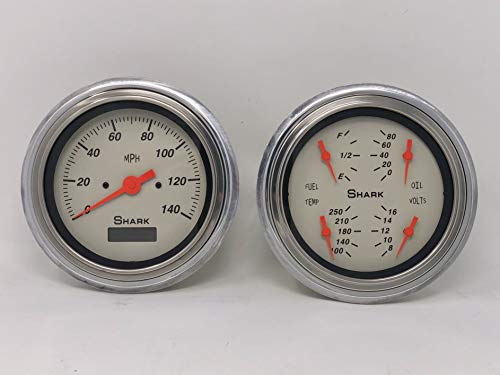 Dolphin Gauges 1947 1948 1949 1950 1951 1952 1953 Chevy Truck 5