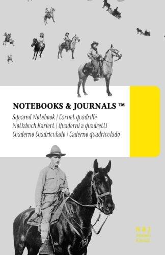 Quaderni a Quadretti Notebooks & Journals, Cavalli (Vintage Collection), Large: Soft Cover (13.97 x 21.59 cm)(Taccuino appunti,Taccuino di viaggio) (Italian Edition)