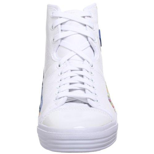 Pf Flyers Mens Glide Sneaker Bianco / Verde