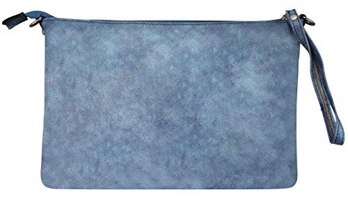 PiriModa Beige T Blau H 30x20x4cm Totenkopf B Totenkopf Messenger Beige Bag Strass Strass AwrFA4fq
