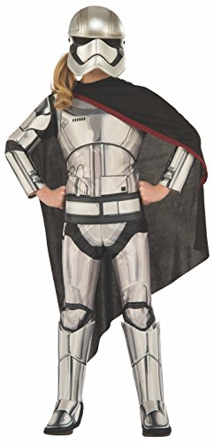 [Rubie's Costume Star Wars Episode VII: The Force Awakens Deluxe Captain Phasma Child Costume, Medium] (Film Quality Star Wars Costumes)