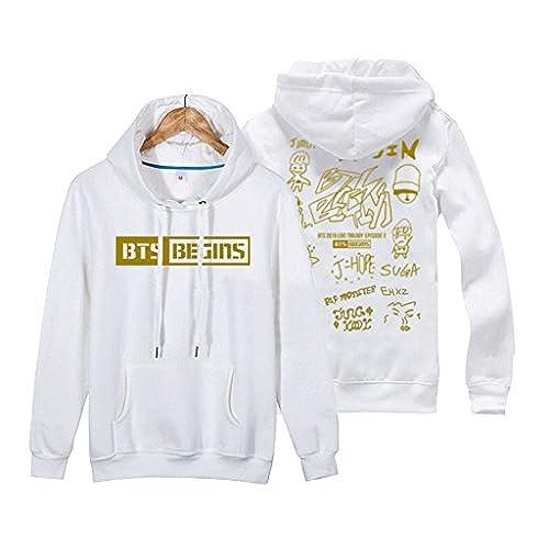 BTS New Logo Hoodie Bangtan Boys New album Love Yourself Same Sweater Pullover