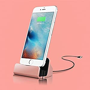NuoStar Desktop Charger Stand Docking Station Sync Dock Cradle For iPhone X 8 7 Plus