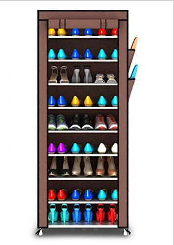 TQLT Arcón Simple del Zapato 10 Zapato Que recibe el Zapato del Zapato Perchero Multifuncional del hogar 160 * 60 * 30cm...