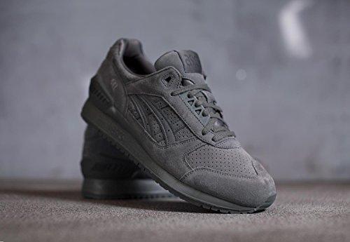 ASICS Hombres Carbon Gel-Respector Zapatillas gris