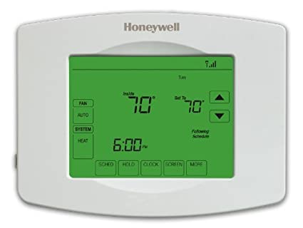 honeywell rth8580wf 7 day wi fi programmable touchscreen thermostat rh amazon com 7-Day Programmable Thermostat Honeywell 7-Day Programmable Universal Thermostat Honeywell