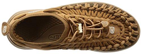 Keen Uneek Stripes - Zapatillas de Senderismo Hombre Coyote/Chipmunk