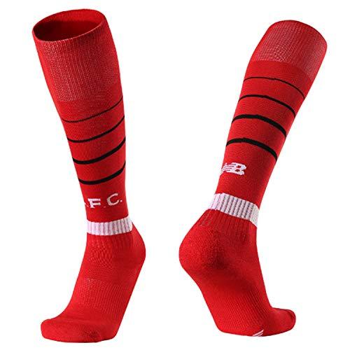 Manchester United, Barcelona, Juventus, Real Madrid, Liverpool, Paris, home and away soccer socks for Mens (LWP-hong) (Socks Real For Men Madrid)