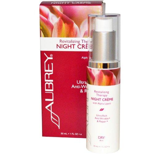 Rosa Mosqueta Night Cream w/Alpha Lipoic Acid - Aubrey Organics - 1 oz - Cream