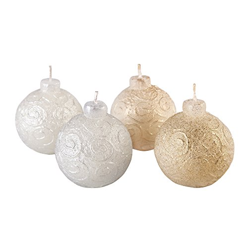 - Candle Atelier 'Christmas Tree Decoration Balls' (Metallic mix - Gold and Silver) 2.4