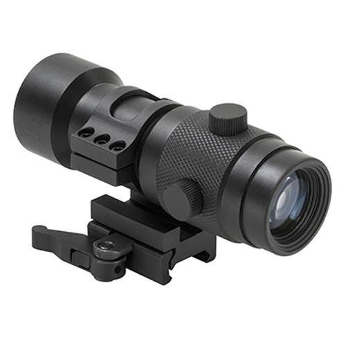 3x Magnifier With Flip To Side Quick Release Mount For Refle