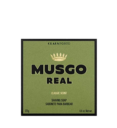 (Musgo Real Men's Shave Soap - Classic Scent 4.4 0z)