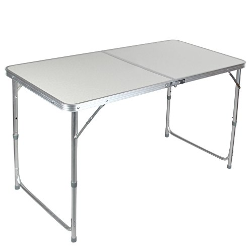 Portable Height Adjustable Aluminum Folding Camping Table FT-ACFT1