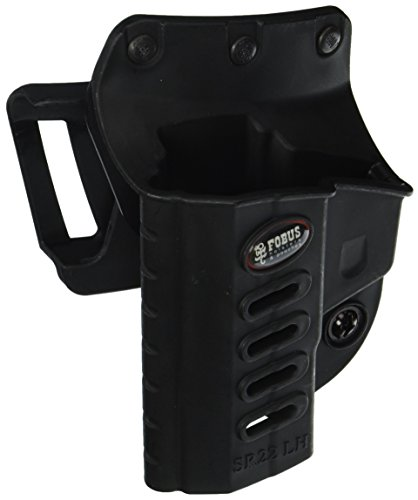 (Fobus Ruger Sr22 Evolution Roto-Holster Belt, Black, Left)