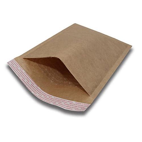 #0 6x10 Padded Envelopes Kraft Bubble Mailers Small Bubble Envelopes 250pcs by BravoPack