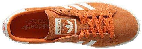 Uomo Orange S18 chalkwhite off trace White Sneaker Rosso Campus Adidas EwT4qFT
