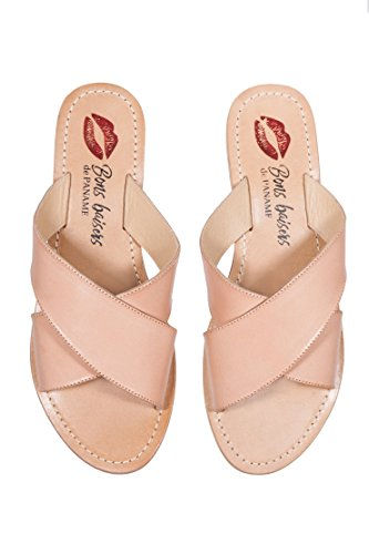 Marcella Mules Nude de Nude baisers Paname Bons x7qwpnI0S