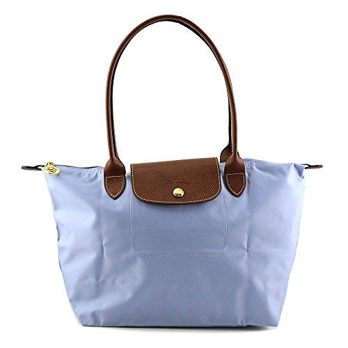Longchamp Women's Le Pliage Medium Tote Bag, Blue Mist, OS