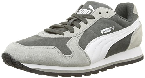 Puma St Runner Full Sd - Zapatillas de running Hombre Grigio (Dark Shadow/Drizzle/White)
