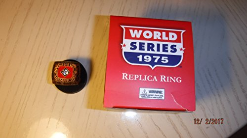 1975 Cincinnati Reds (Big Red Machine) World Series Replica Baseball Ring