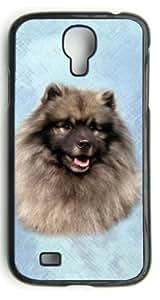 Custom Keeshond Dog Hard Case Clip on Back Cover for Samsung S4 case