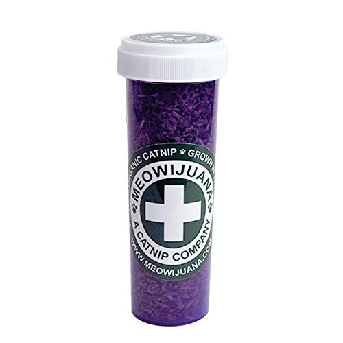 Meowijuana Purrple Passion - Silvervine and Catnip Blend - Large Bottle by Meowijuana
