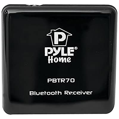 Pyle Home Bluetooth A2DP Audio Interface Adapter/Receiver with 30-Pin Apple Connector and 3.5mm Input