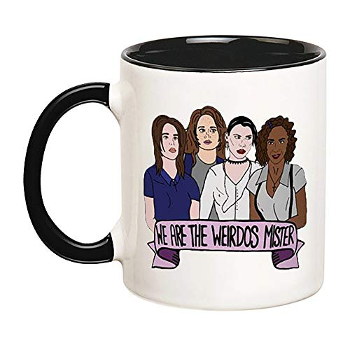 KeepRolling - The Craft Mug (Witch, Magic, 90s Movie, Charmed, Sabrina, Salem, Halloween, Blair Witch, White Magic, Spells, Smudge Kit, Gore Horror), 11oz Ceramic Coffee Novelty Mug/Tea Cup, Mug -