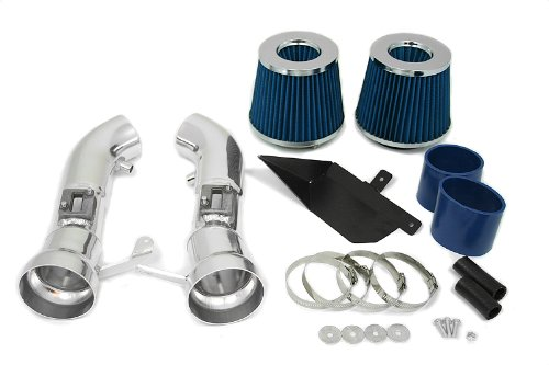 09 10 11 12 Nissan 370Z Heat Shield Intake Blue (Included Air Filter) #Hi-NS-1B by High performance parts