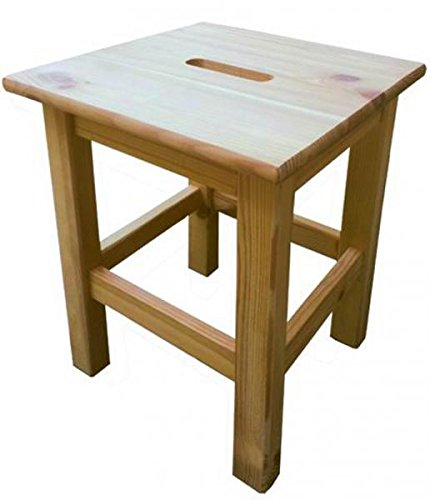 Blinky 9679005Big Square Wooden Stool