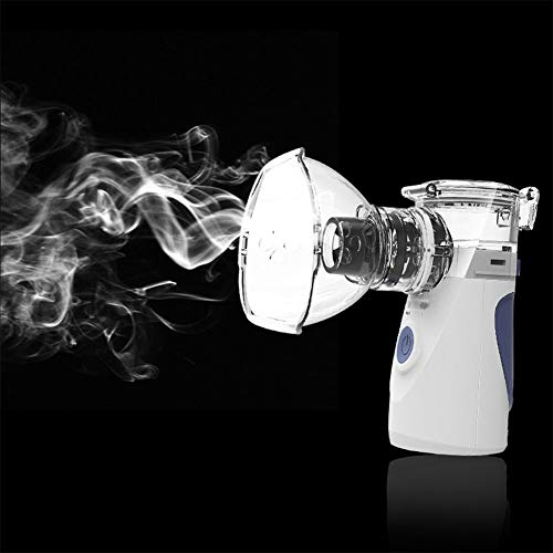 Bingirl Children Adult Mini Portable Automizer Ultrasonic Nebulizer Spray Aromatherapy Steamer Health Care (Mini Portable Nebulizer)