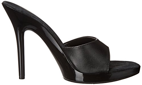 Ellie Shoes Women's 502 Vanity Dress Sandal Black/Black Patent 1tK9Ec