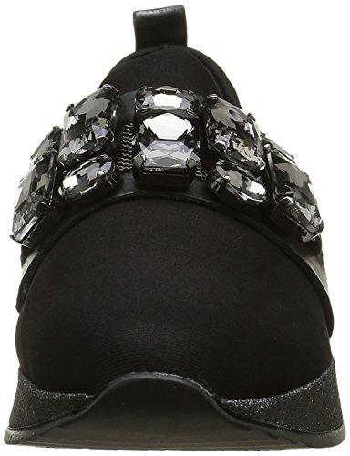 188 Sneaker Bronx Schwarz Nero Donna Shimmer Black Basse Gunmetal ABvBO