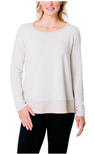 Kersh Womens Long Sleeve Scoop Neck Sweater (Husked Tan, X-Large)