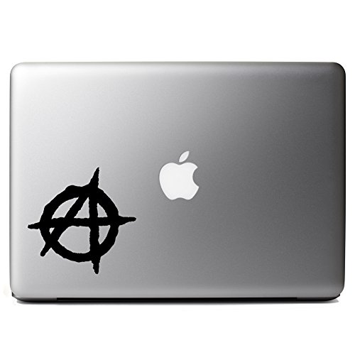 Anarchy Symbol Outline Vinyl Sticker Laptop Iphone Cell Decal