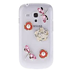 Dragonflies And Camellia Hard Case for Samsung Galaxy I8190 00725526
