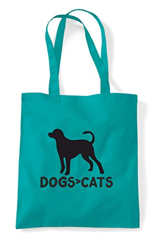 Are Shopper Than Themed Greater Tote Funny Cats Emerald Dogs Bag Cute Animal dnqpwUvdOR
