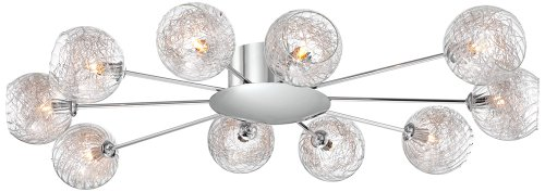 Possini Euro Wired Chrome Ceiling product image