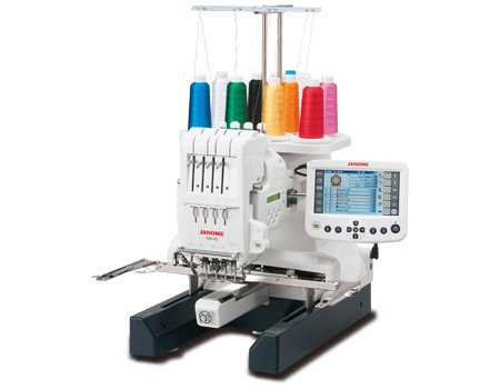 Janome MB-4S Commercial 4 Needle Embroidery Machine (Home Machine Embroidery Needles)