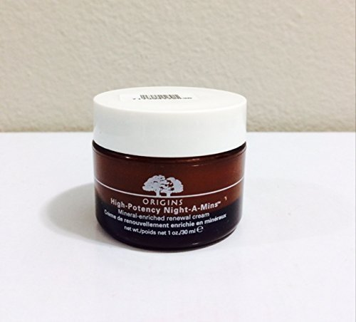 Origins High Potency Night-A-Mins Mineral Enriched Renewal Cream UNBOX 30 Ml 1 Oz
