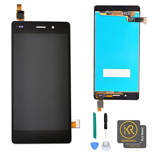 KR-NET LCD Display+Touch Screen Digitizer Assembly for Huawei P8 Lite (Black)