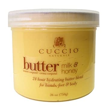 Cuccio Natural Butter Blends, Milk and Honey 750 g by Cuccio