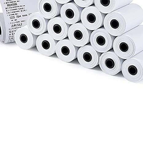 creatspaceES 3 Rolls/Set 57X30MM Papel Adhesivo imprimible ...