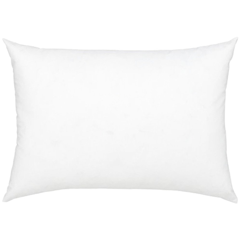 Stuffer Throw Pillow Insert Sham Form Polyester Rectangular Oblong White 9 X 14 Inch BT Fine Linen