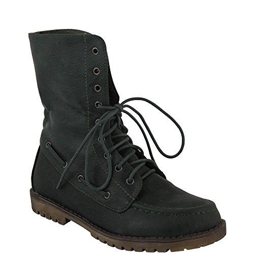 Unbekannt - botas estilo motero Mujer